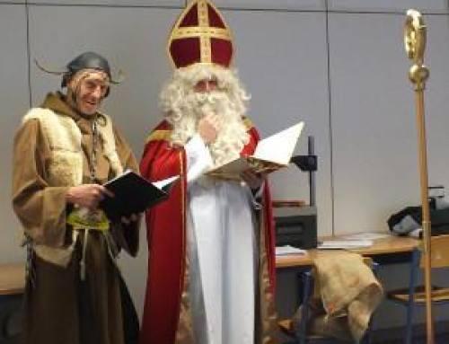 Nikolaus und Krampus in den GBS Schulen München