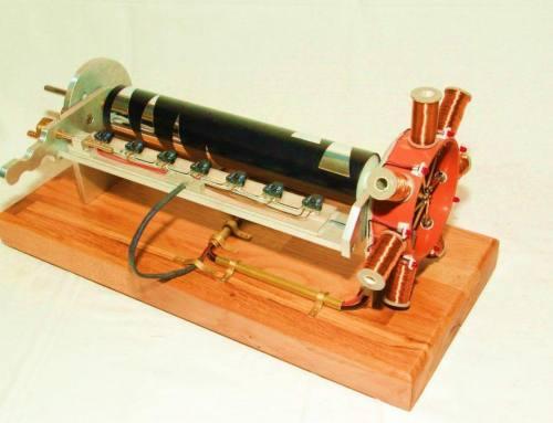 Elektromagnetisch betriebener Sternmotor mit berührungsloser Steuerung
