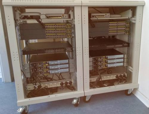Neue Racks für das GBS Netzwerklabor