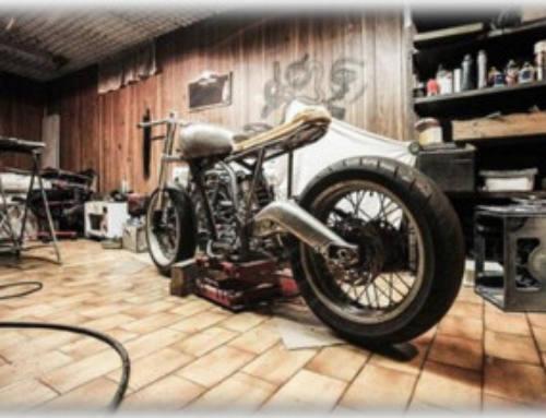 Projektarbeit: Federbeinumbau an einem Motorrad