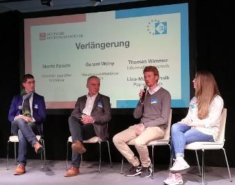 Beim Regionalen Technikertag sprechen auch Studierende der GBS Technikerschulen München auf dem Podium.