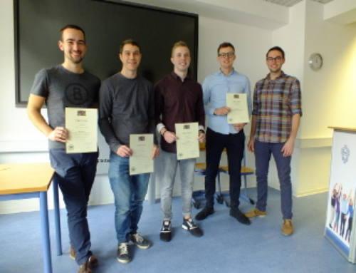 Meisterpreis für Absolventen der GBS Technikerschule