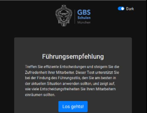 Fächerübergreifender Unterricht an der GBS