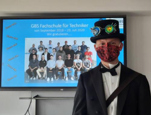 Verabschiedung der Absolventinnen und Absolventen der GBS-Technikerschule