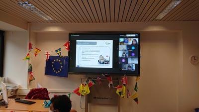 Erasmus Days werden digital an den GBS Schulen München