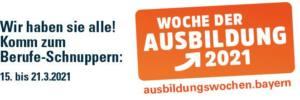 Logo Woche der Ausbildung in Bayern 2021